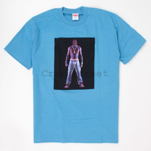 Tupac Hologram Tee in Slate