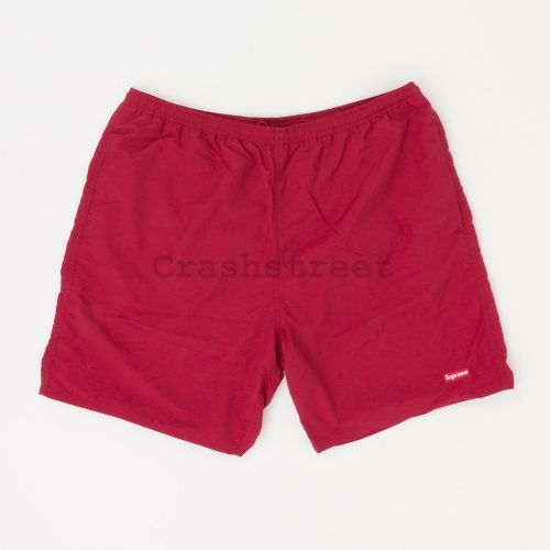 Nylon Water Short in Red
