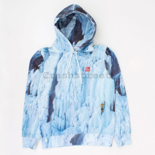 TNF Ice Climb Hooded Sweatshirt in Multi