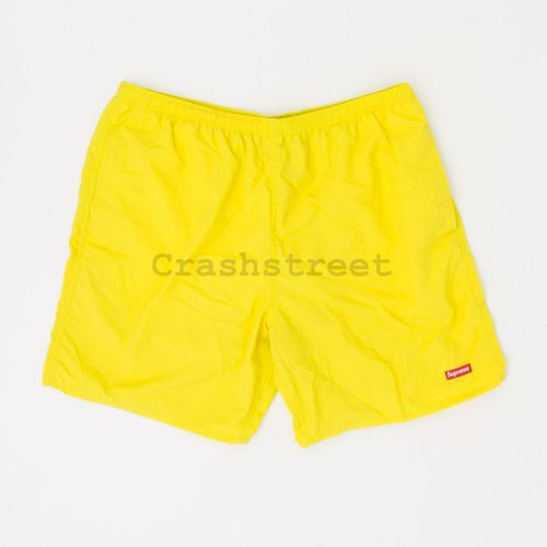 Nylon Water Short in Yellow