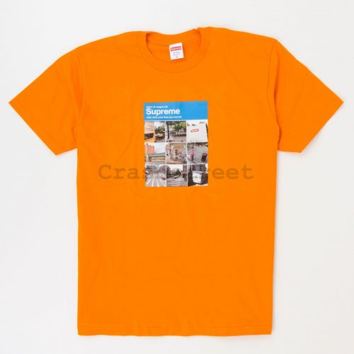Verify Tee - Orange