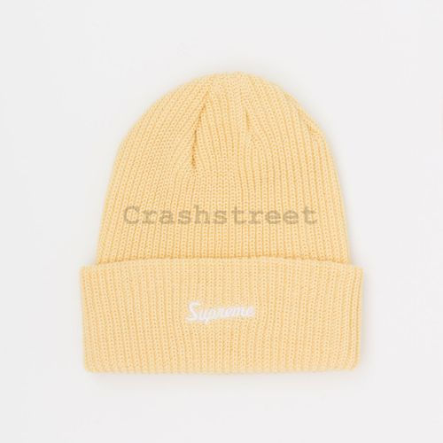 Loose Gauge Beanie in Cream