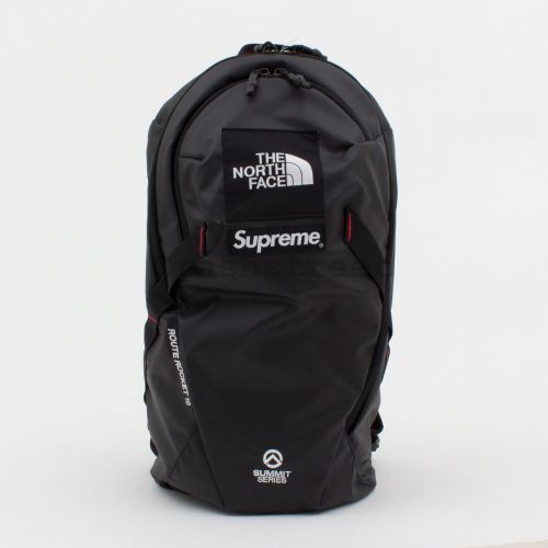 TNF Summit Series Outer Tape Seam Route Rocket Backpack in Black