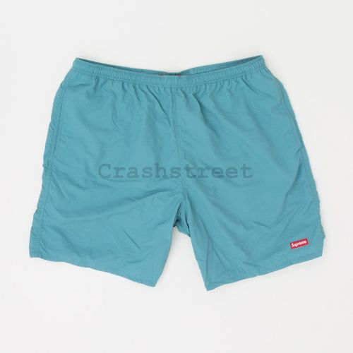 Nylon Water Short in Teal