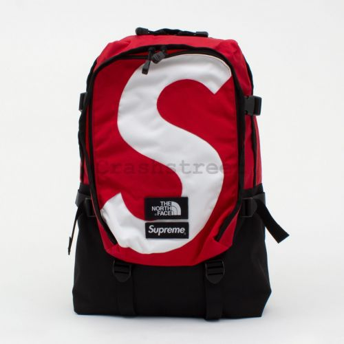 The North Face S Logo Expedition Backpack - Red