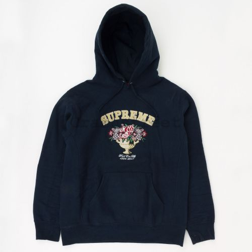 Centerpiece Logo Hooded Sweatshirt