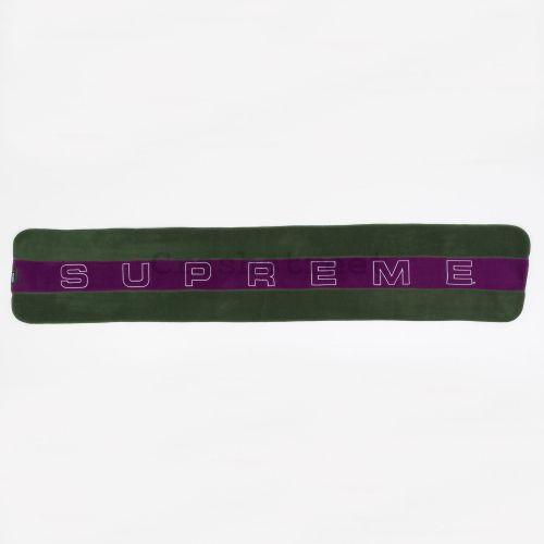 Polartec Scarf in Dark Green