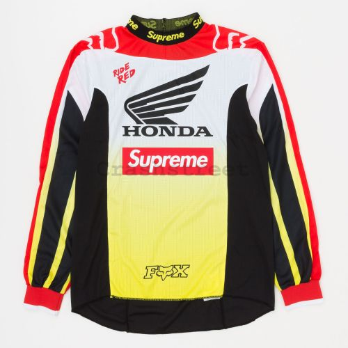 Honda Fox Racing Moto Jersey Top in Red
