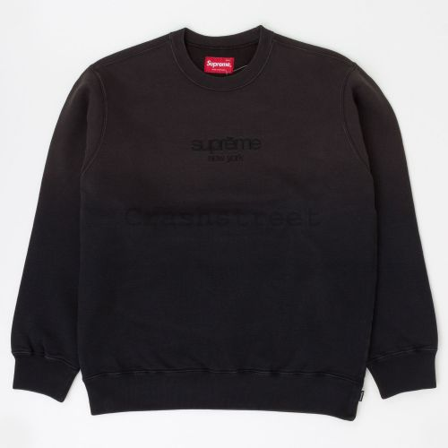 Dipped Crewneck - Black