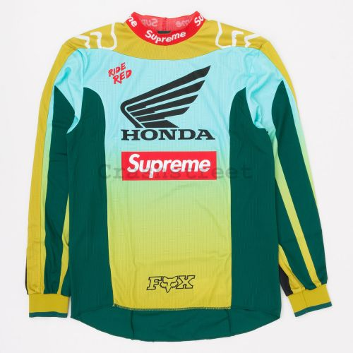 Honda Fox Racing Moto Jersey Top in Moss