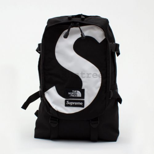 The North Face S Logo Expedition Backpack - Black