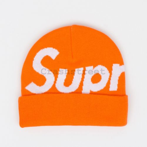 Big Logo Beanie - Orange