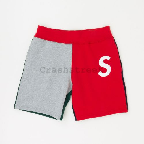 S Logo Colorblocked Sweatshort