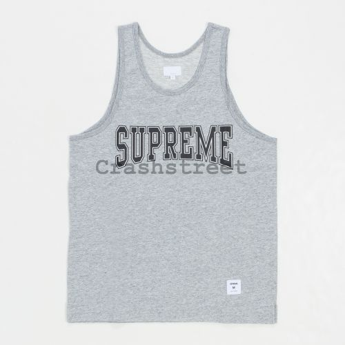 Collegiate Tank Top - Grey