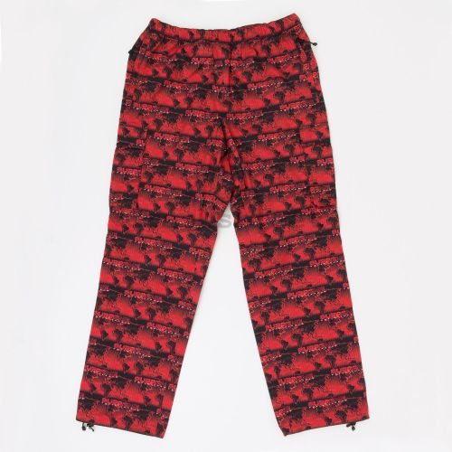 World Famous Taped Seam Cargo Pant in Red