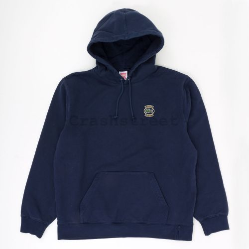 Lacoste Hooded Sweatshirt - Navy