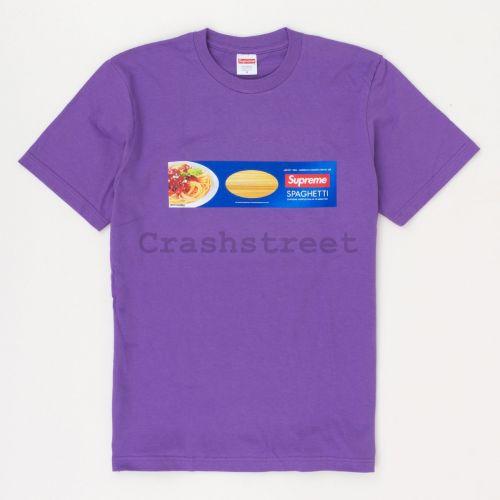 Spaghetti Tee in Purple