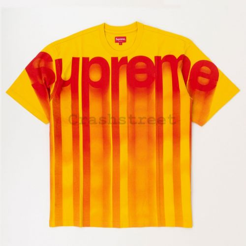 Bleed Logo SS Top in Yellow