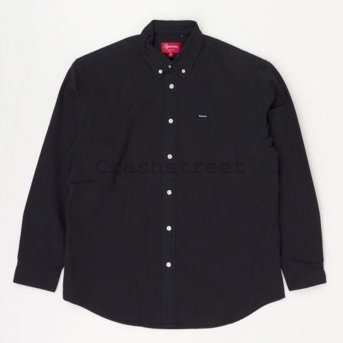 Small Box Twill Shirt in Black
