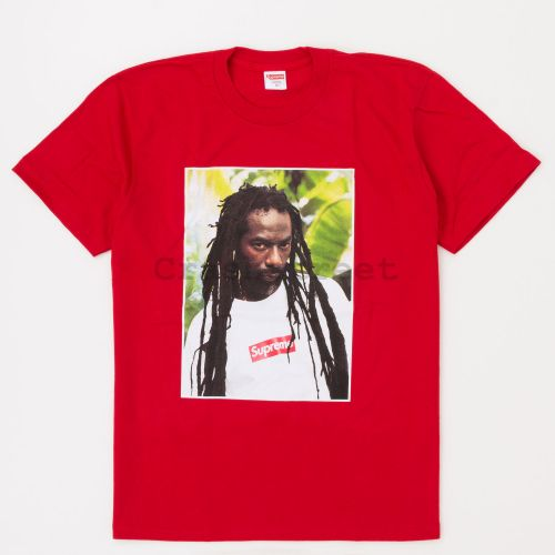 Buju Banton Tee in Red