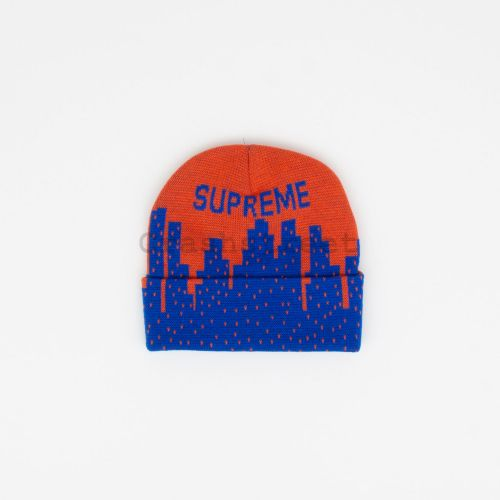 New York Beanie - Orange