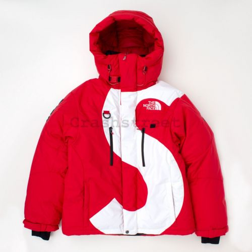 The North Face S Logo Himalayan Parka in Red