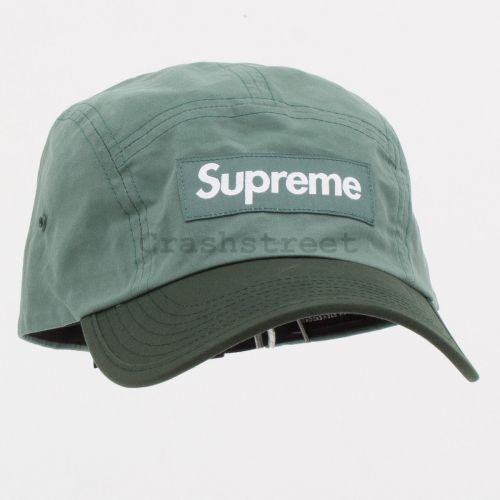 Waxed Cotton Camp Cap in Green