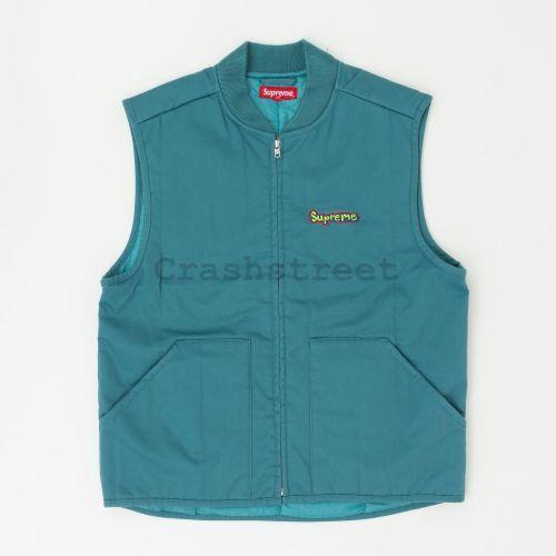 Gonz Shop vest in Teal