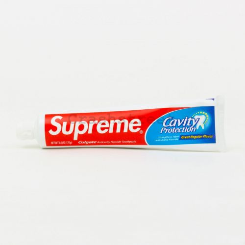 Colgate Toothpaste in White