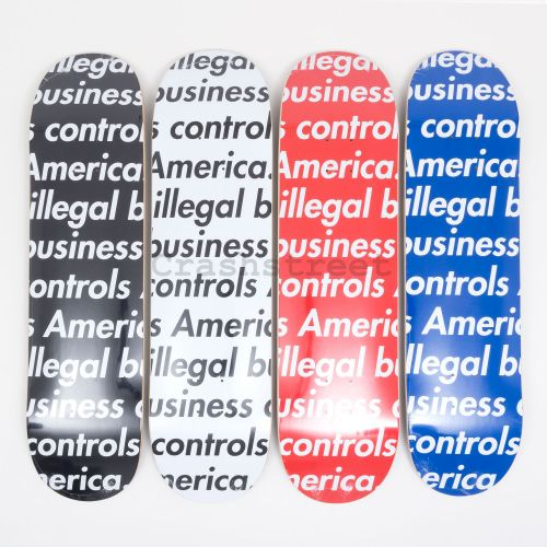 Illegal Business Skateboard (set of 4)