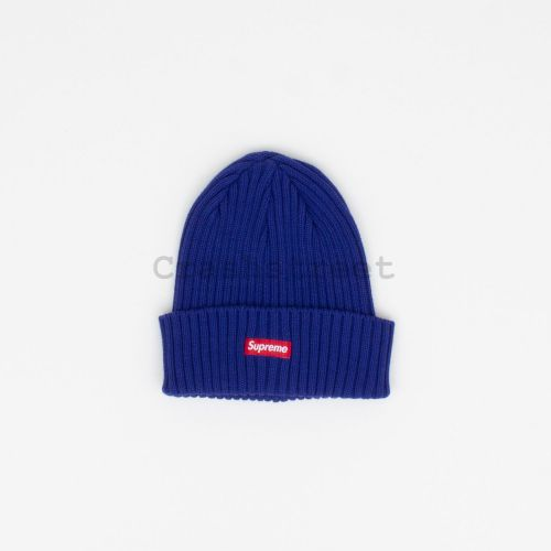 Overdyed Beanie - Dark Blue