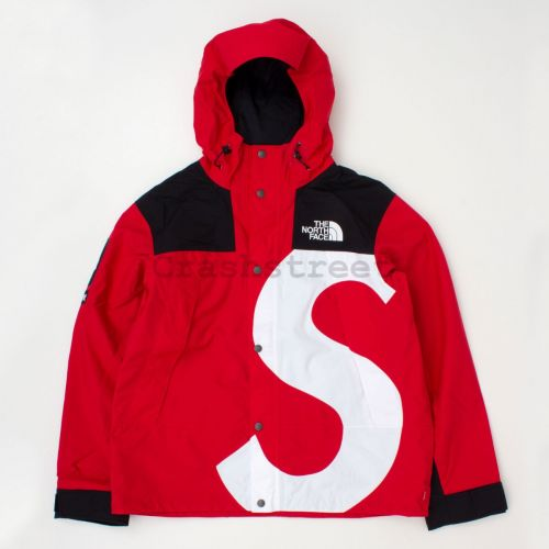 The North Face S Logo Mountain Jacket - Red