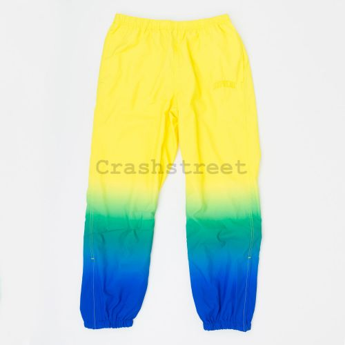 Gradient Track Pant in Yellow