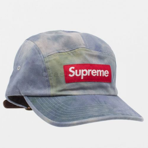 Washed Chino Twill Camp Cap (SS21) in Multi