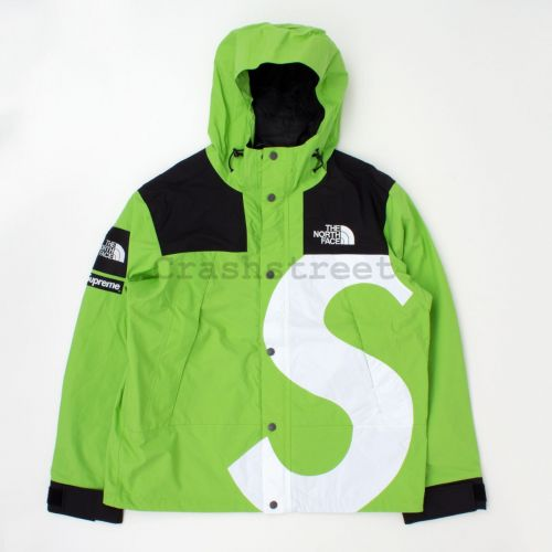 The North Face S Logo Mountain Jacket - Lime