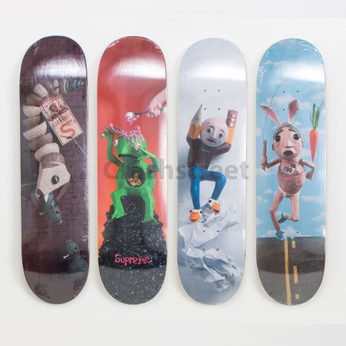 Mike Hill Skateboard (Set of 4)