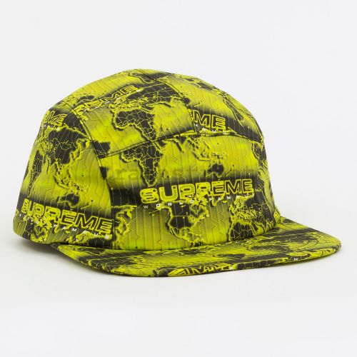 World Famous Taped Seam Camp Cap in Green
