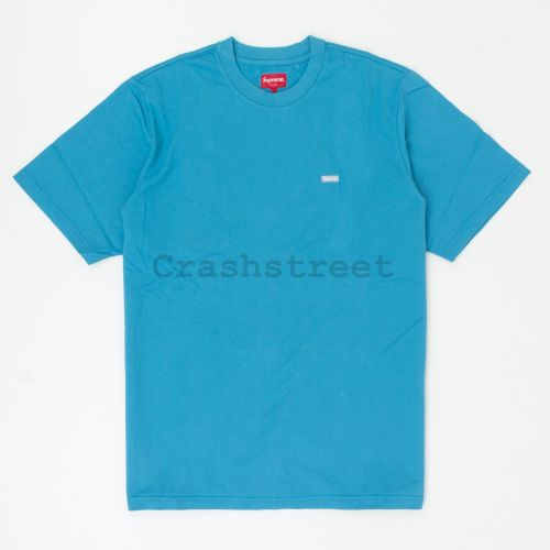 Reflective Small Box Tee in Blue