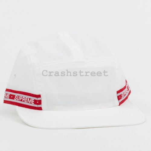 Tonal Tape Camp Cap in White