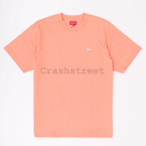 Reflective Small Box Tee in Coral