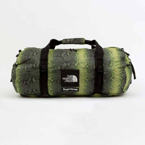 The North Face Snakeskin Flyweight Duffle Bag - Green