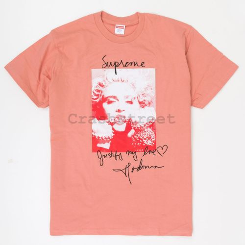 Madonna Tee in Peach