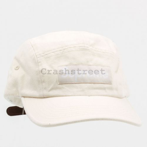Washed Chino Twill Camp Cap (fw21) in Natural
