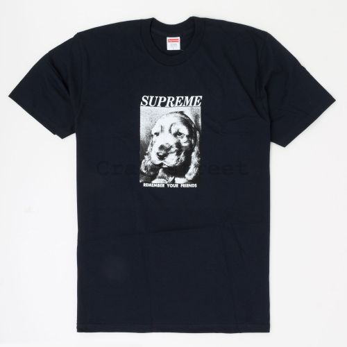 Remember Tee in Navy