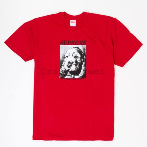 Remember Tee - Red