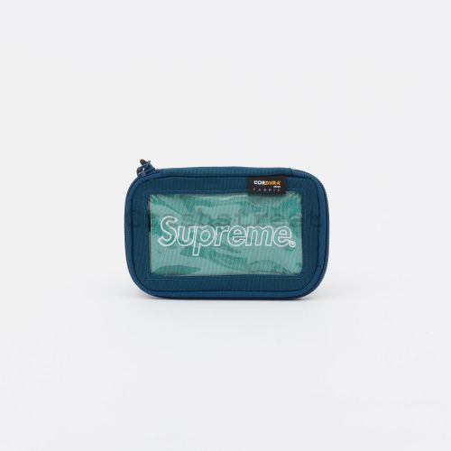 Small Zip Pouch - Teal