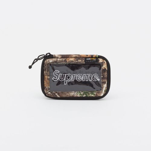 Small Zip Pouch in Camo