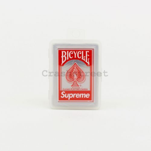 Bicycle Clear Playing Cards