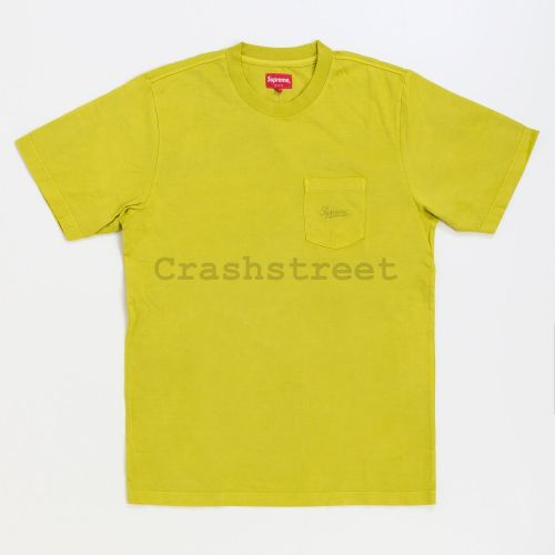 Overdyed Pocket Tee - Green