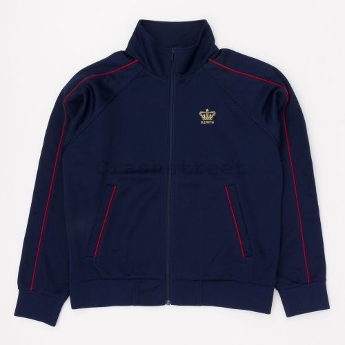 Crown Track Jacket in Navy